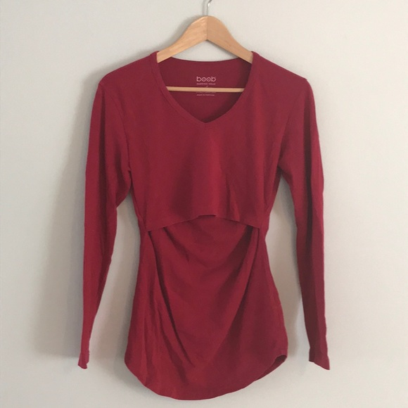 77bdb5c8ac886 Boob Design Tops | Organic Cotton Nursing Shirt | Poshmark